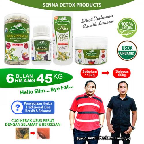 Daun Senna Sanna Detox Slimming