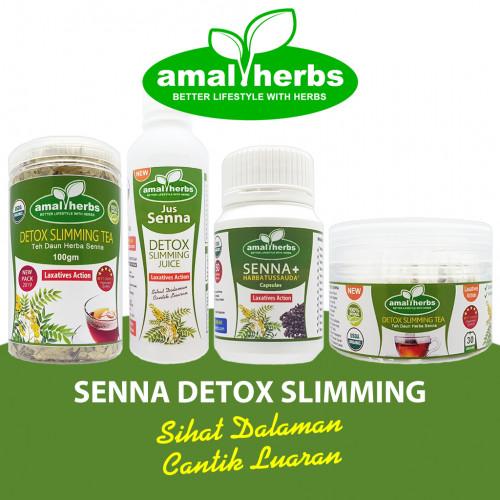 Senna Sanna Tea Leaf 100gm Slimming Tea Detox