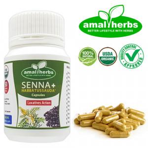Senna Extract 50 Capsules Sanna Detox Slimming